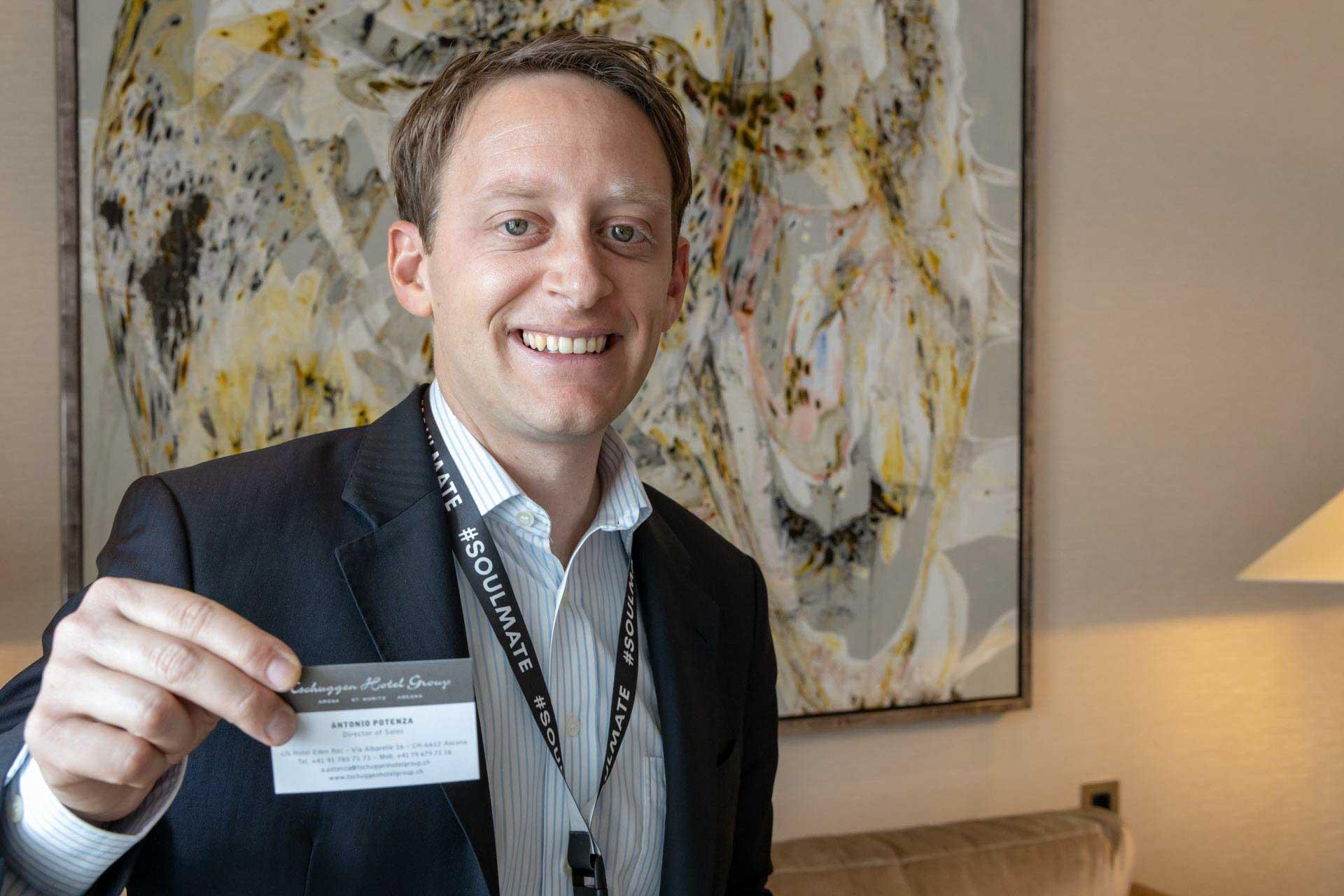 Antonio Potenza von Tschuggen Hotel Group
