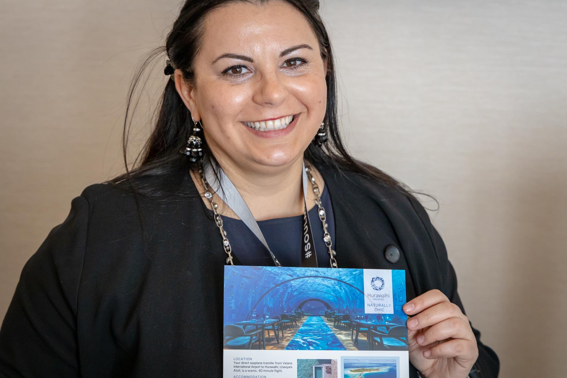 Hurawalhi Island Resort, Frau Nina Fleischmann-Torosyan
