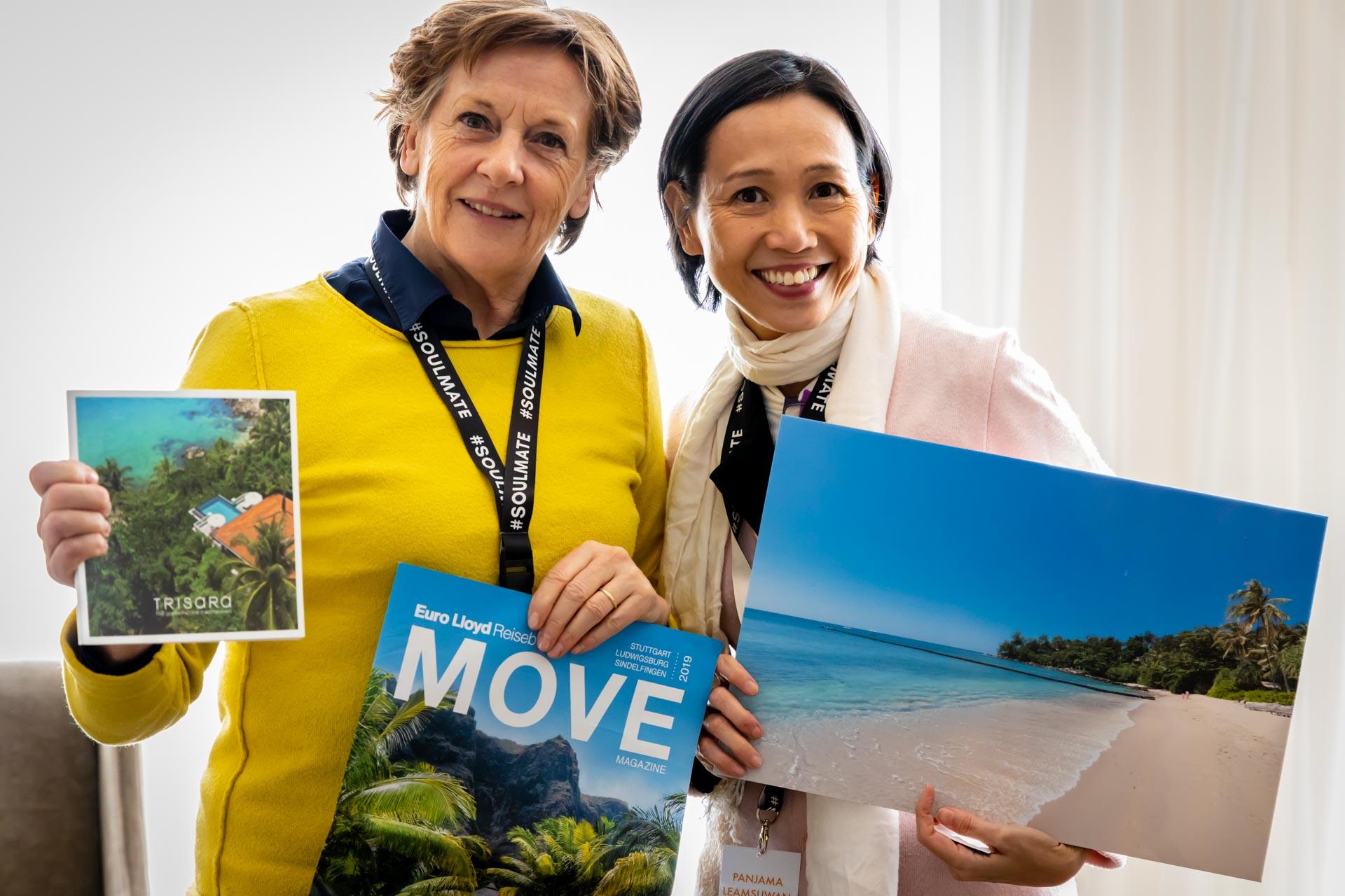 Trisara Phuket Resort, Thailand, Frau Gabriele Reminder-Schray, Ms. Panjama Leamsuwan