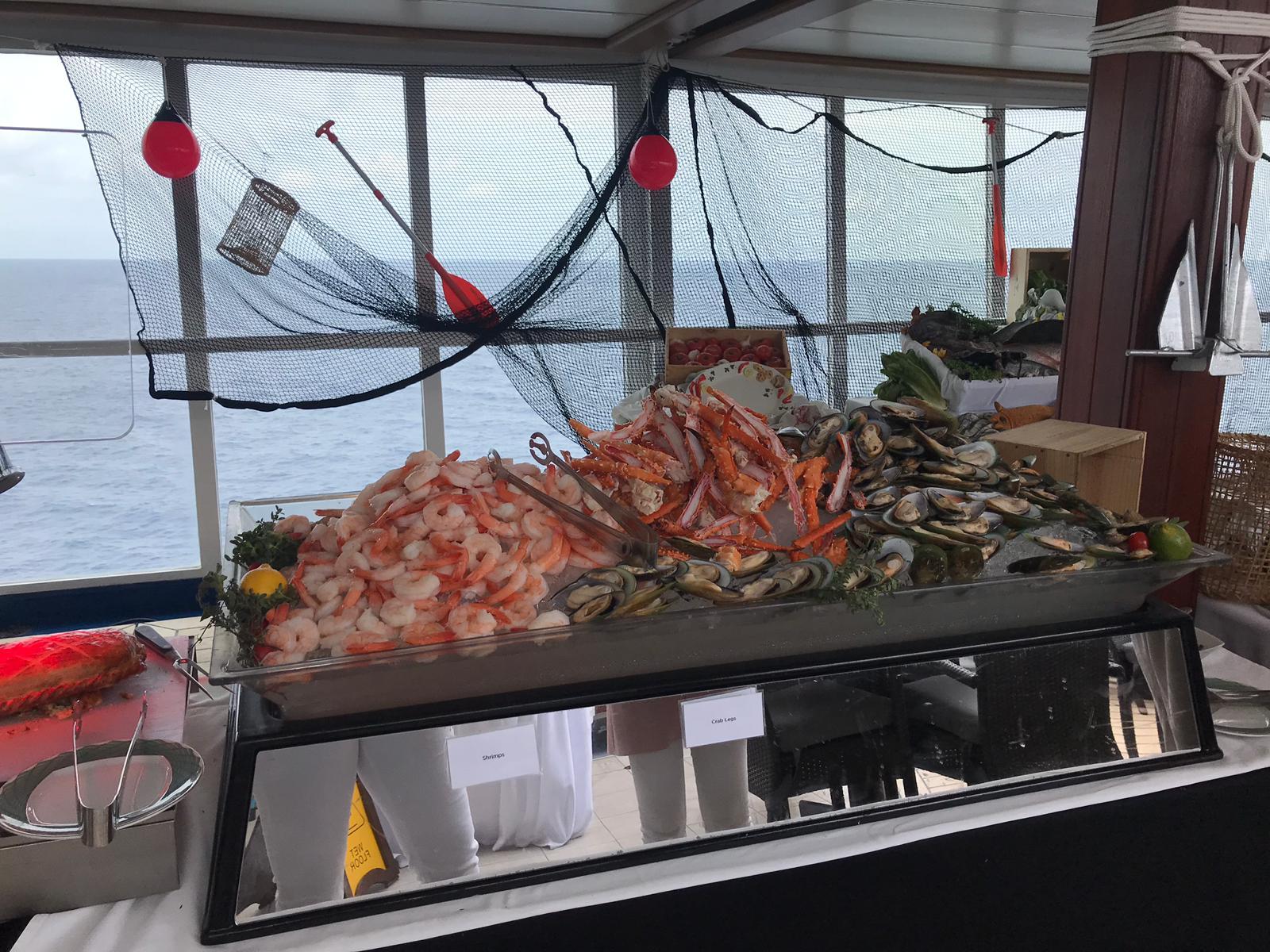 Pool Grill Sea Food Buffet