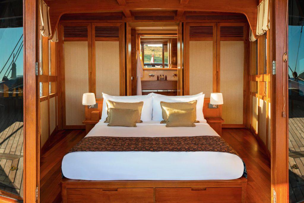 Schlafzimmer auf der Amandira