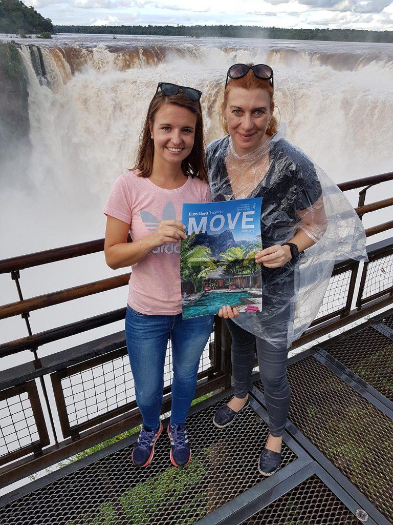 Silke Damm, die Move & ich in Iguazu