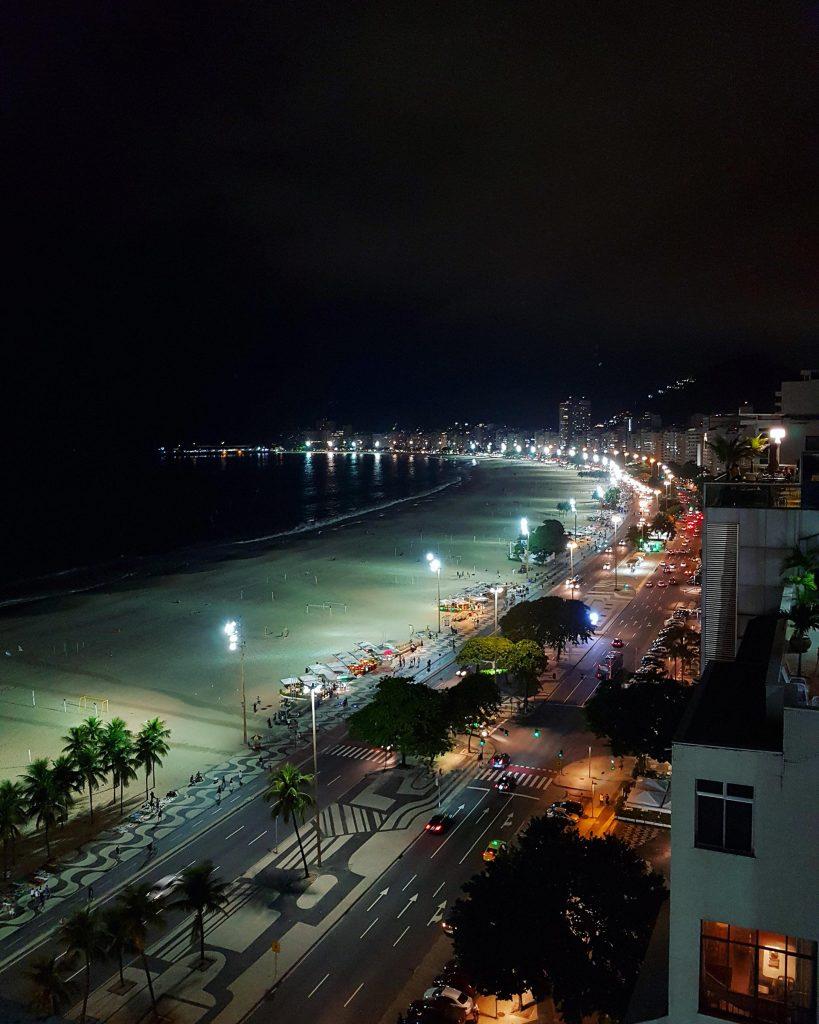 Copacabana bei Nacht