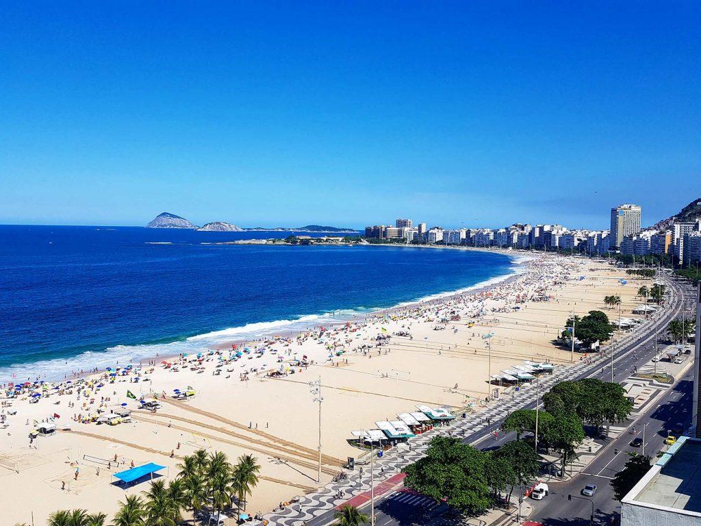 Copacabana am Tag