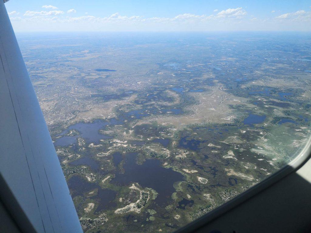Ausblick aus der Cessna