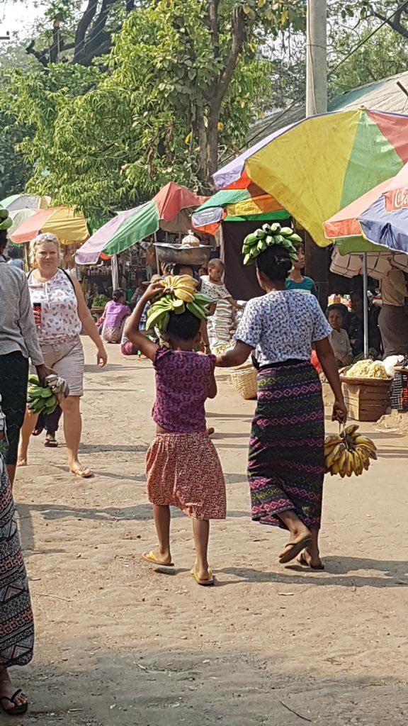 auf dem lokalen Markt