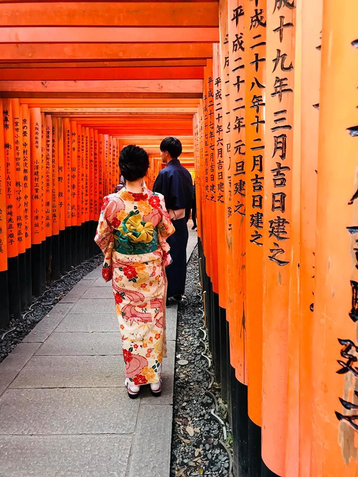 Fushimi Inari Taisha Schrein Kyoto