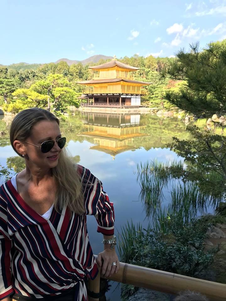 Kinkaku Ji Tempel Goldener Pavillion Kyoto