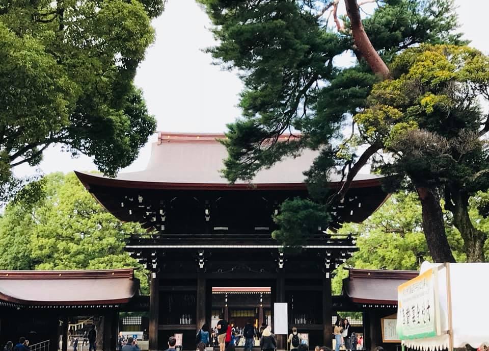 Meiji Schrein Shibuya