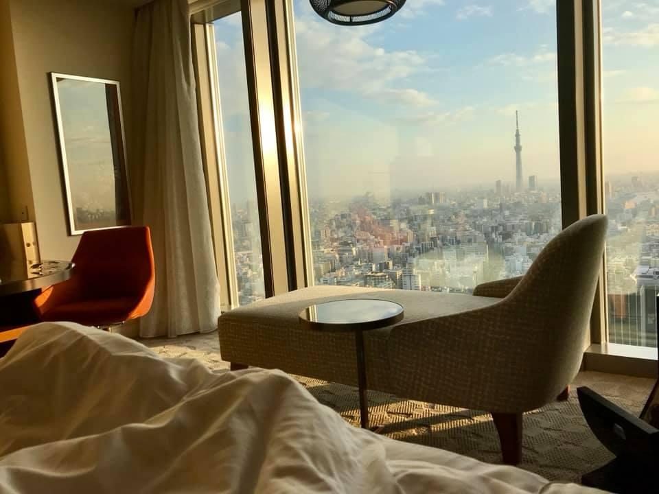 Room View Mandarin Oriental Tokio
