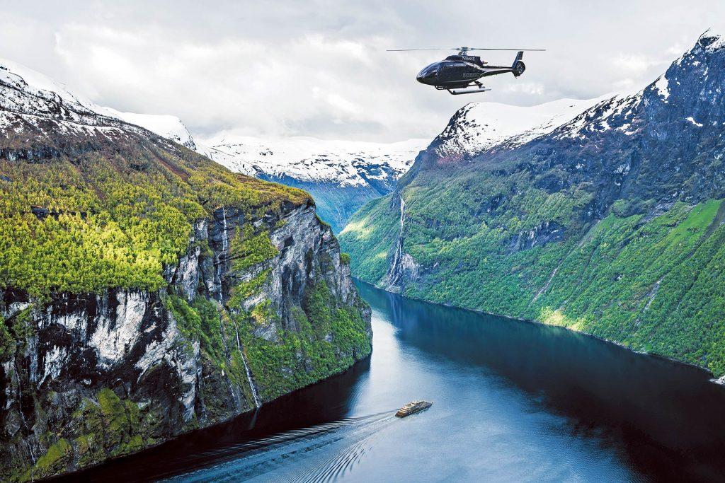 Scenic Eclipse Fjord