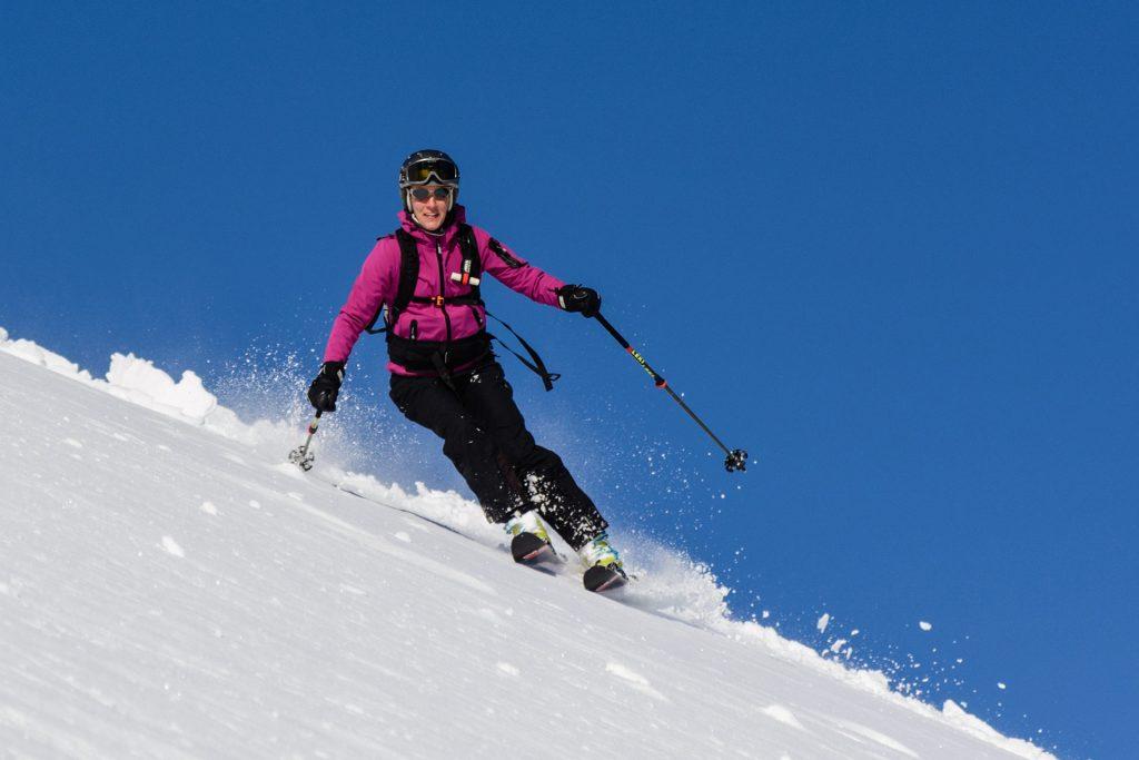 Ich auf Ski