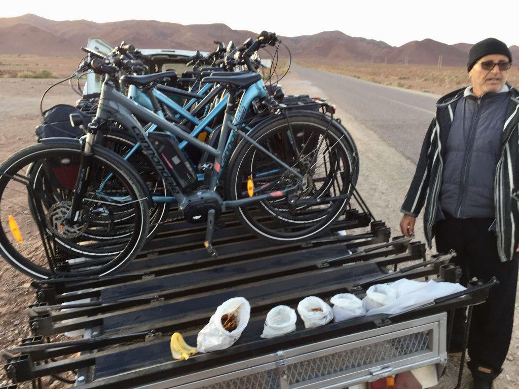 Biketour Marokko