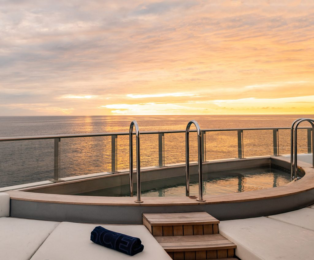 Scenic Eclipse Vitality Pools-Deck 5