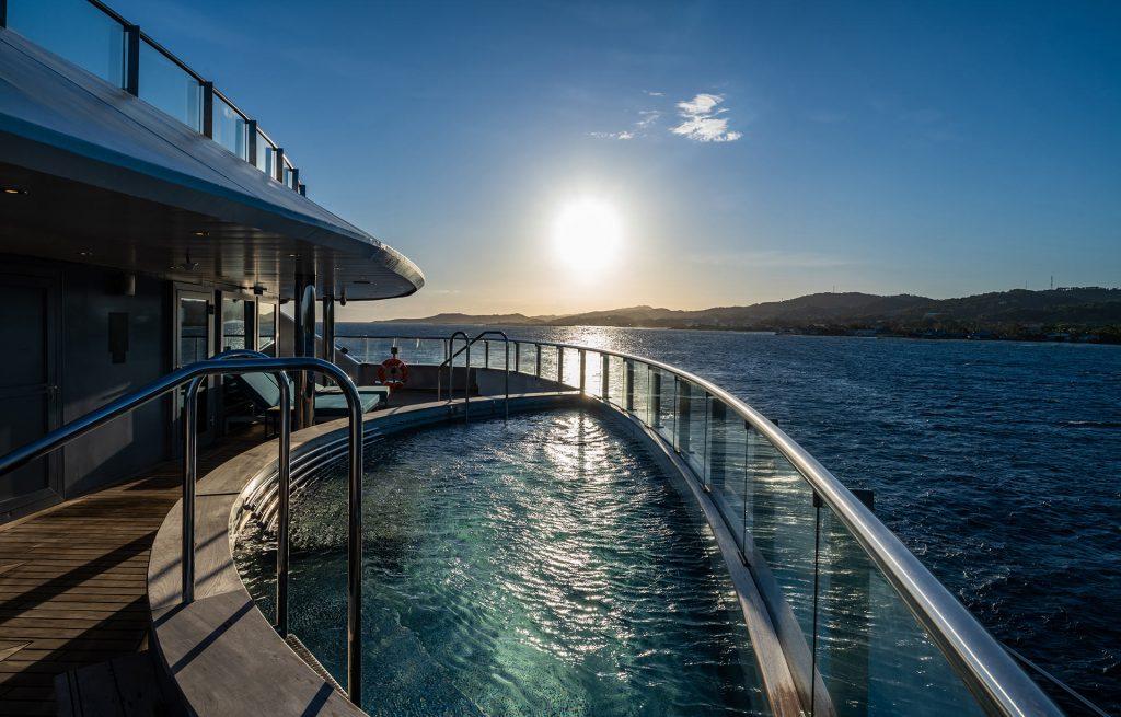 Scenic Eclipse Vitality Pools-Deck 6