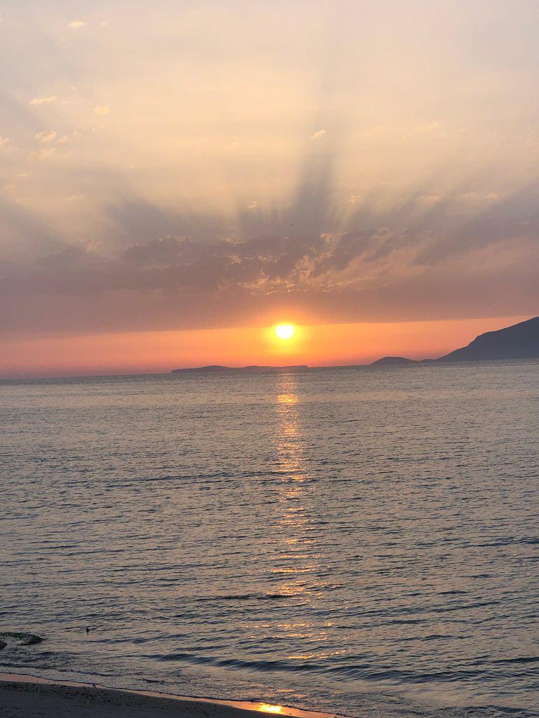 Sonnenuntergang Kos