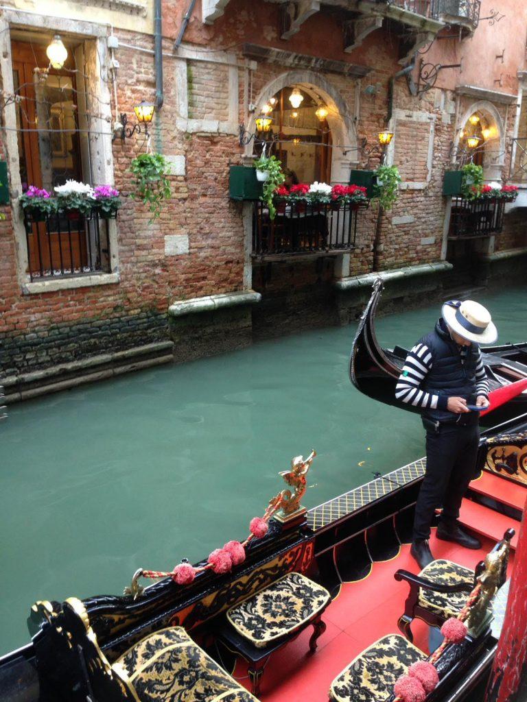 Venedig - Gondelfahrt