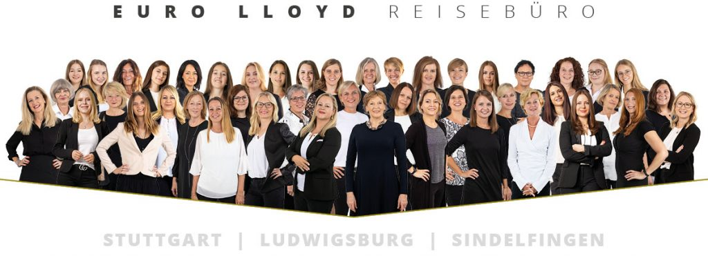 Gesamtes Team der Euro Lloyd Reisebüros