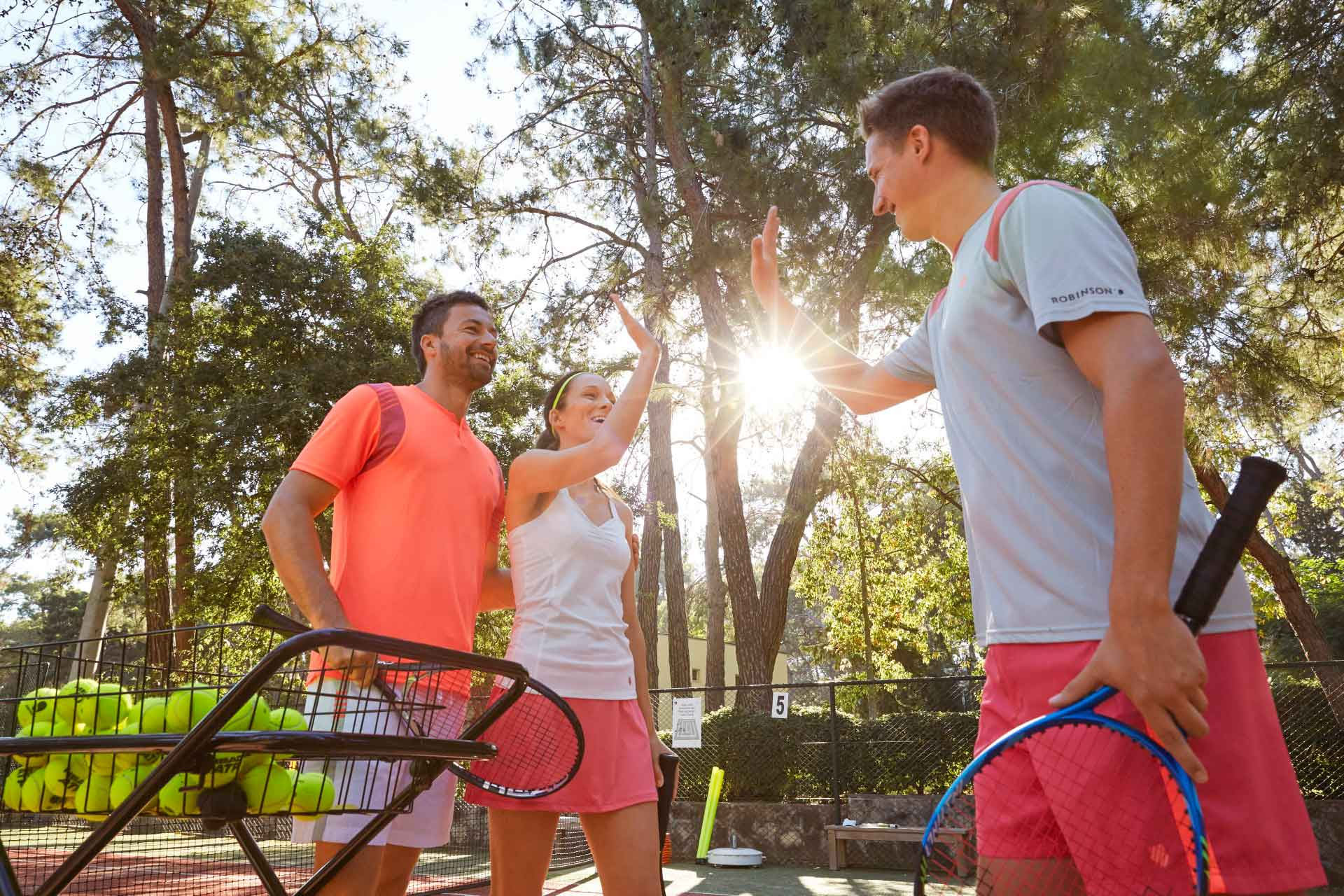 ROBINSON CLUB PAMFILYA - Tennis