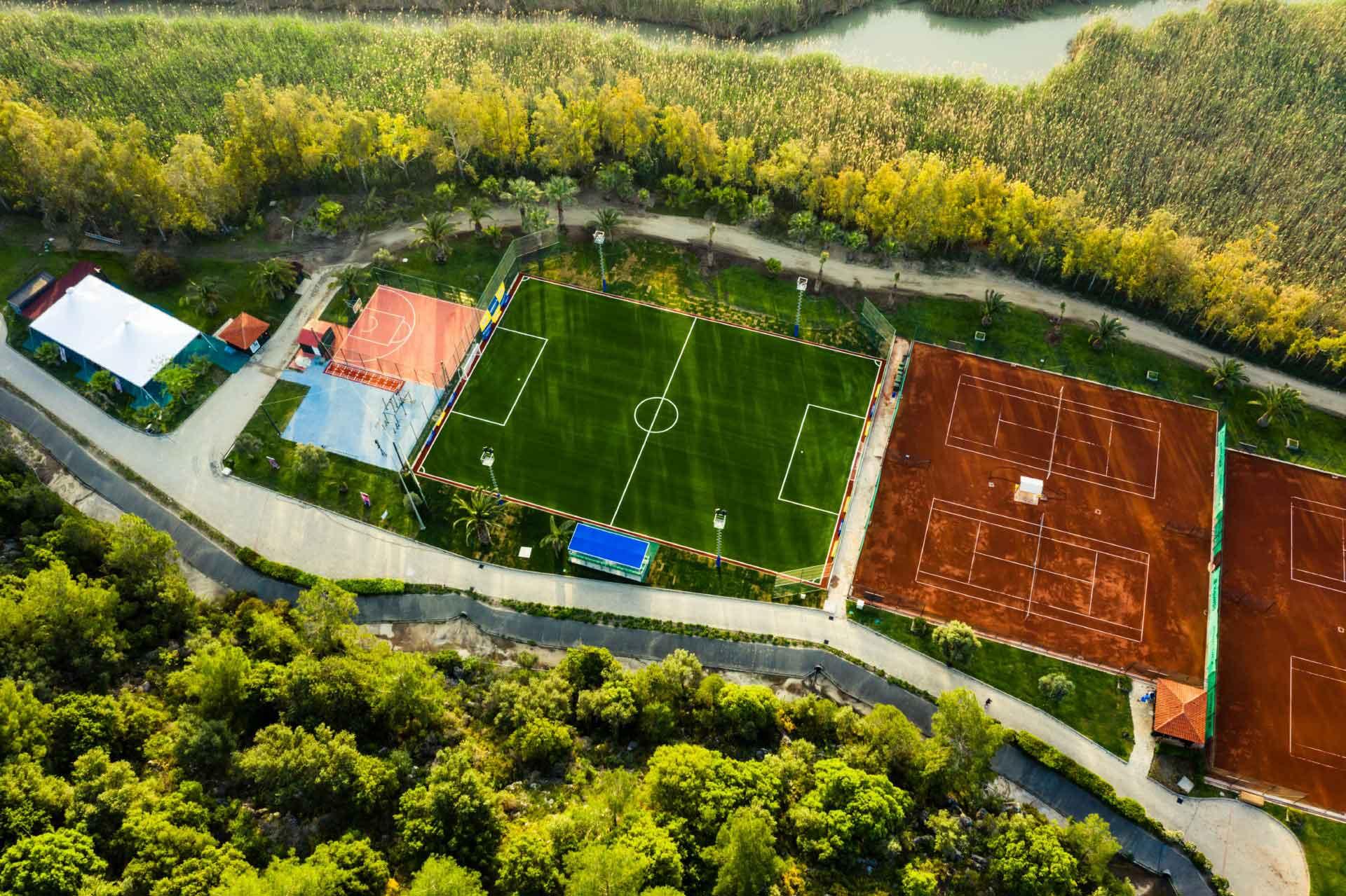 ROBINSON CLUB SARIGERME PARK -Sportplatz