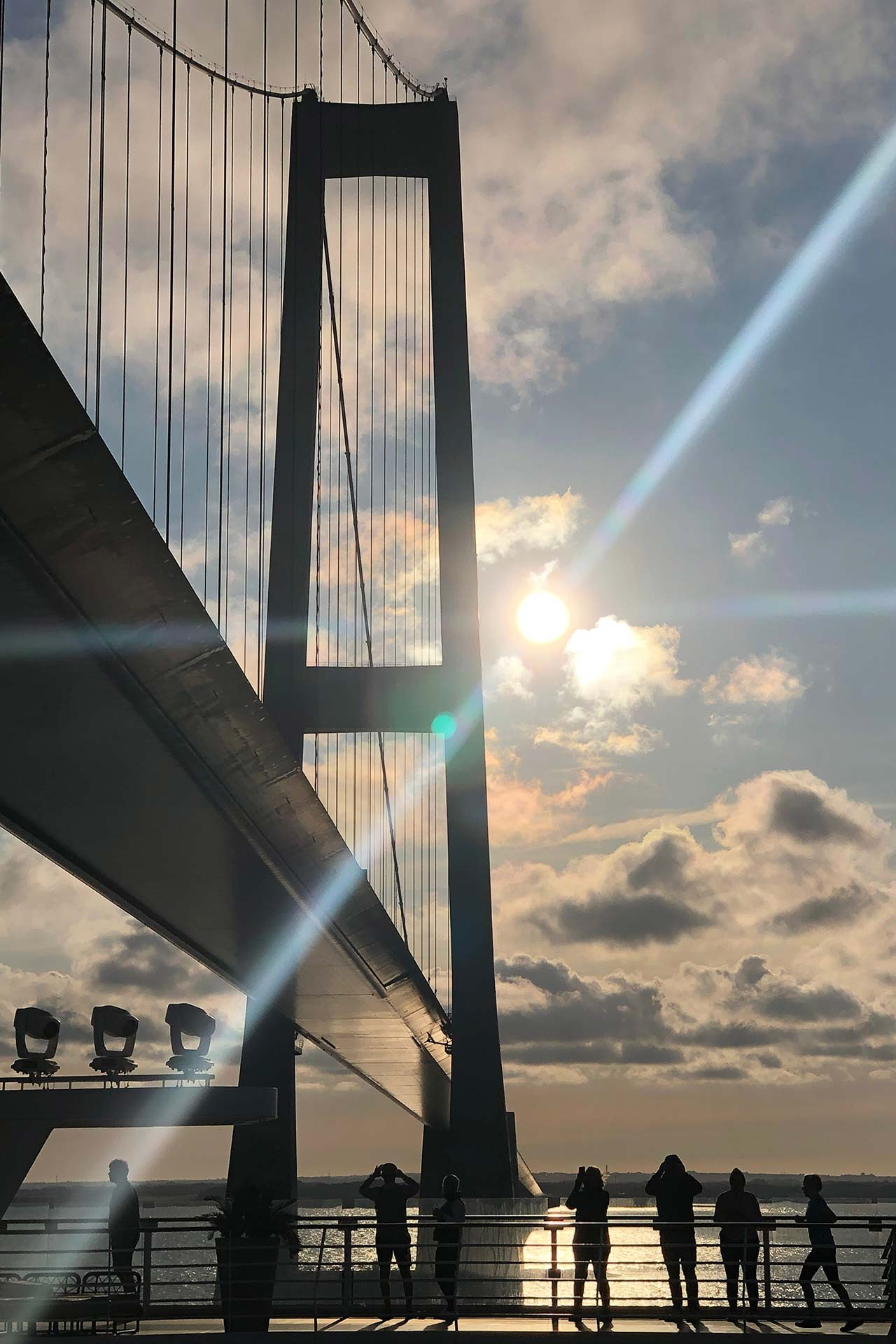 Unterquerung Große-Belt-Brücke