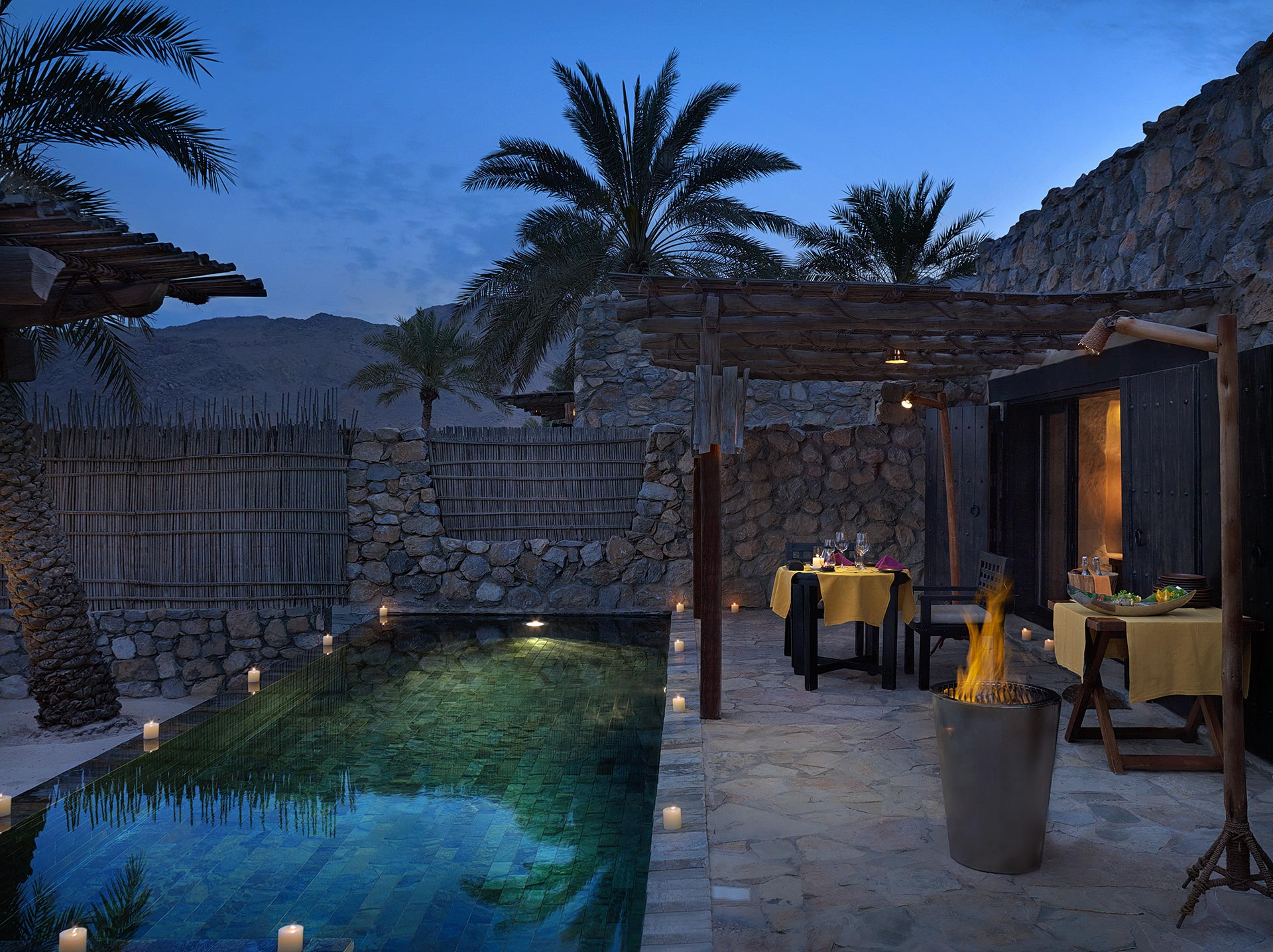 Six Senses ZIGHY BAY - Villa dining private