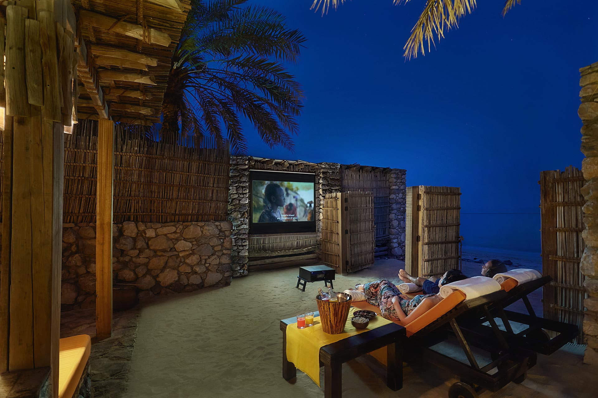 Six Senses ZIGHY BAY -Private In-Villa Cinema Paradiso