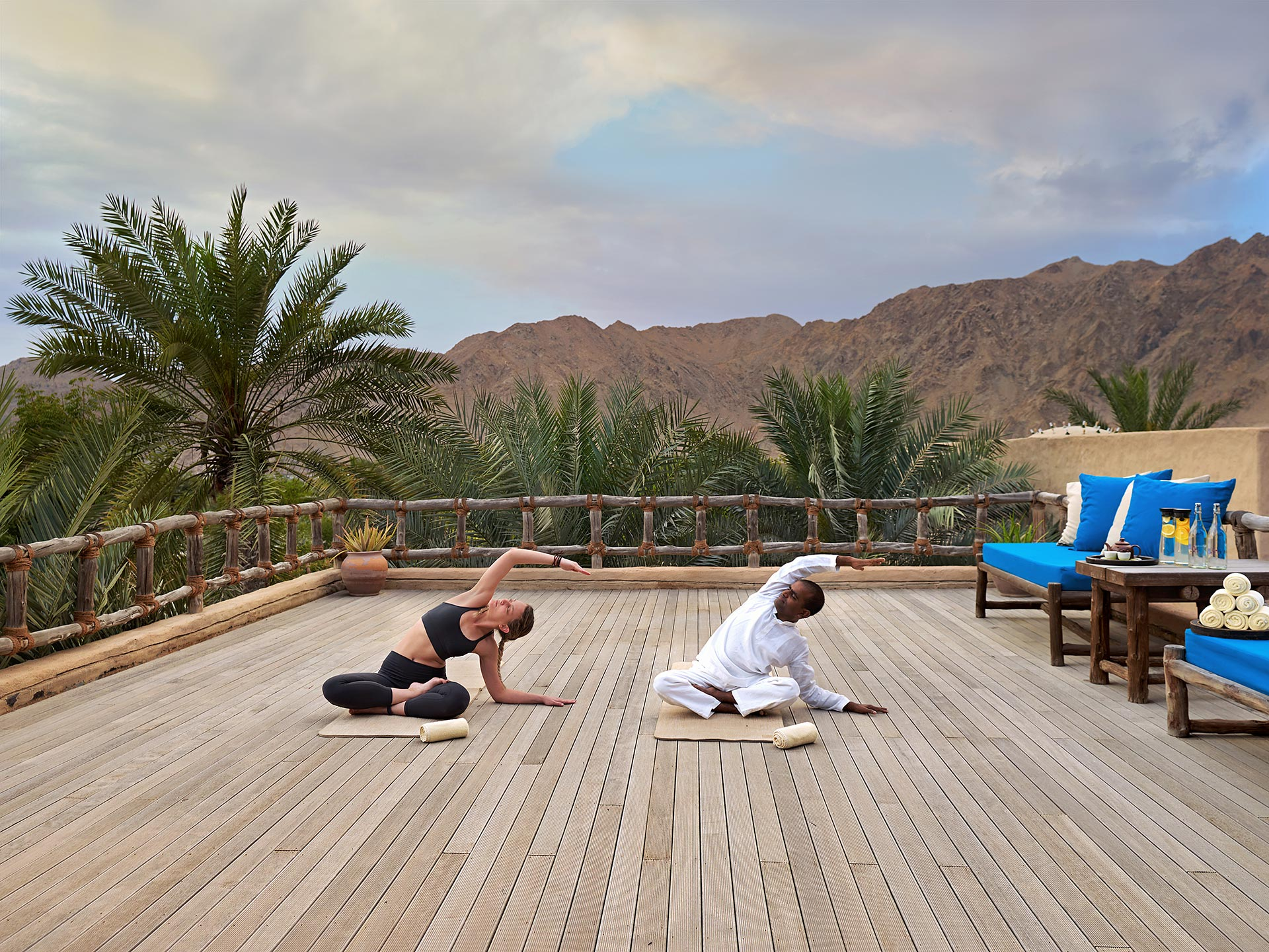 Six Senses ZIGHY BAY - Yoga at spa