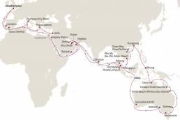 CUNARD große Weltentdeckerreise