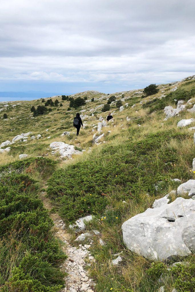 Wandern auf dem Biokovo Gebirge