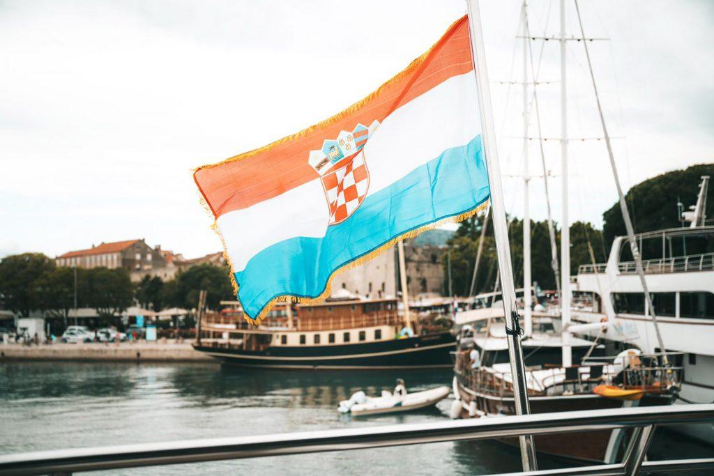 Hafenabschnitt in Makarska