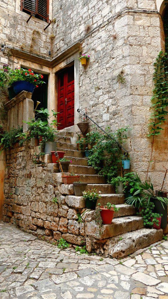 In Trogir