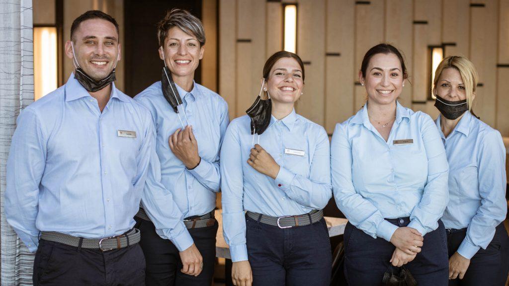 Service Team Botrini's Angsana Corfu