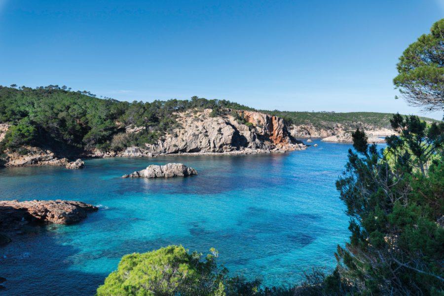 Cala Xarraca Bucht, Ibiza